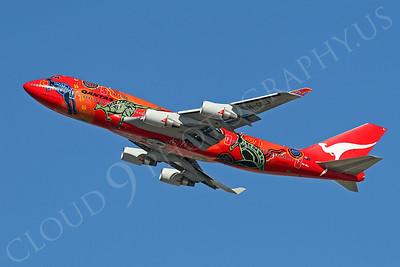 B747 00042 Boeing 747-400 Qantas VH-OEJ by Tim P Wagenknecht