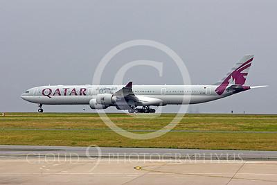A340 00105 Airbus A340 Qatar A7-AGD by Peter J Mancus