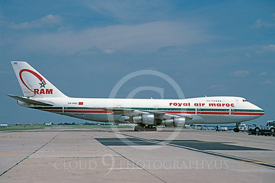 B747 00051 Boeing 747 Royal Air Maroc CN-RME via African Aviation Slide Service