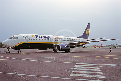 B737 00157 Boeing 737 Ryan Air EI-CSF 22 May 2005 by Stephen W D Wolf