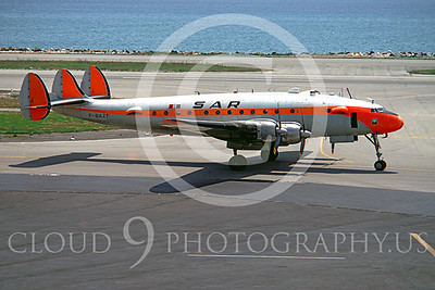 Connie 00001 Lockheed Constellation SAR Airline F-BAZF June 1968 by Clay Jansson