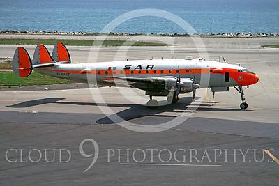 Connie 00001 Lockheed Constellation SAR Airline F-BAZF June 1968 by Clay Jansson