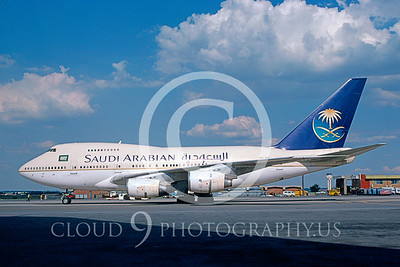 B747SP 00001 Boeing 747SP SAIDI ARABIAN #HZ-AIF 2003 via AASS