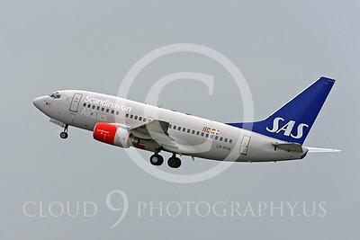 B737P 00156 Boeing 737 Scandinavian LN-RPW by Peter J Mancus