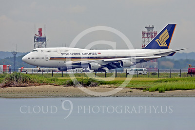 B747 00403 Boeing 747 Singapore Airlines by Peter J Mancus