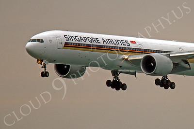 CUNALPJ 00062 Boeing 777 Signapore 9V-SWJ by Peter J Mancus