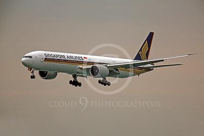 B777 00125 Boeing 777 Signapore 9V-SWJ by Peter J Mancus