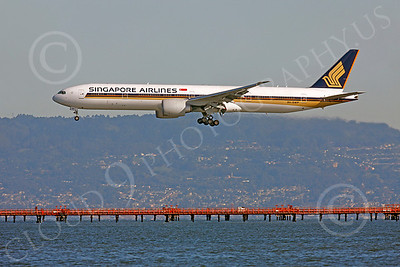 B777 00400 Boeing 777 Singapore 9V-SWP by Peter J Mancus
