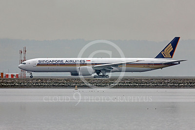 B777 00239 Boeing 777 Signapore Airlines 9V-SWJ by Peter J Mancus
