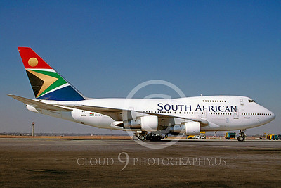 B747SP 00001 Boeing 747SP South African Airline ZS-SPC via African Aviation Slide Service
