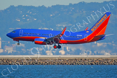 B737 00192 Boeing 737 Southwest N906WN by Peter J Mancus