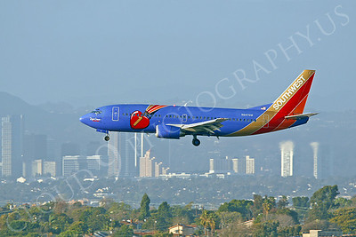B737 00140 Boeing 737 Southwest Airline Triple Crown N647SW by Peter J Mancus
