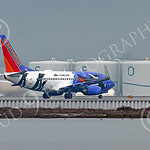 Boeing 737 00185 A colorful Southwest Airline Boeing 737 PENQUIN SEAWORLD on take off at SFO 12-2014 airliner picture by Peter J Mancus