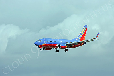 B737 00300 Boeing 737-800 Southwest Airline N405WN by Peter J Mancus