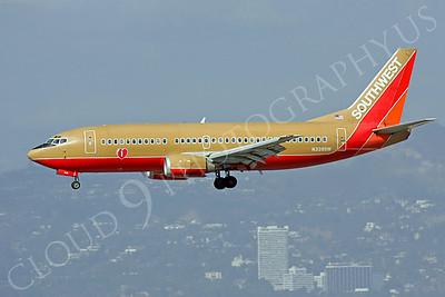 B737 00330 Boeing 737 Southwest Airline N339SW by Peter J Mancus