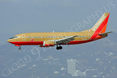 B737 00330 Boeing 737 Southwest Airline N339SW by Peter J Mancus