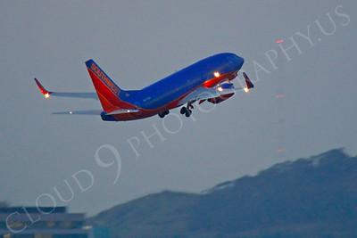 B737 00486 Boeing 737 Southwest by Peter J Mancus