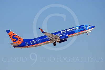 B737 00044 Boeing 737-800 Sun Country N811SY by Dave Budd