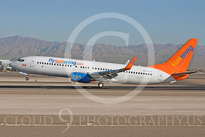 B737 00249 Boeing 737-800 Sun Wing C-FTJH by Dave Budd