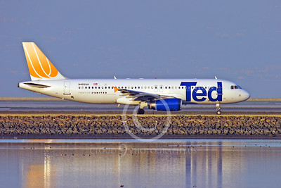 AIRBUS A320 00001 AIRBUS A320 TED N402UA by Peter J Mancus