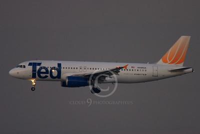 ALPN 00096 AIRBUS A320 TED N489UA by Peter J Mancus