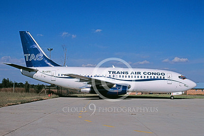 B737 00075 Boeing 737 Trans Air Congo Airline 9L-LEG May 2005 via African Aviation Slide Service