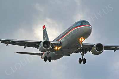 Airbus A320 00046 US Airways by Carl E Porter