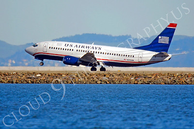 B737 00031 Boeing 737 US Airways N315AW by Peter J Mancus