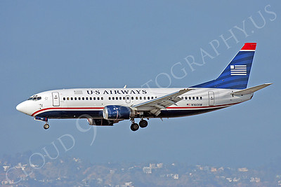B737 00276 Boeing 737 US Airways N160AW by Peter J Mancus