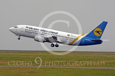 B737P 00076 Boeing 737-300 Ukraine International UR-GAQ by Peter J Mancus