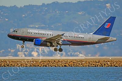 A320 00120 Airbus A320 United N839UA by Peter J Mancus