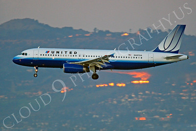 A320 00244 Airbus A320 United N487UA by Peter J Mancus
