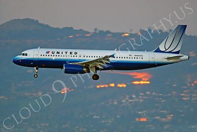 A320 00244 Airbus A320 United N487UA by Peter J Mancus