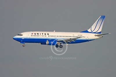 BOEING 737 00052 BOEING 737 UNITED AIRLINES N385USA by Peter J Mancus
