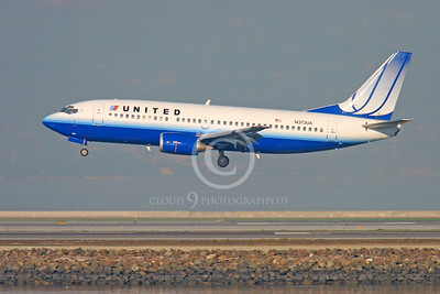 BOEING 737 00084 BOEING 737 UNITED AIRLINES N373UA by Peter J Mancus