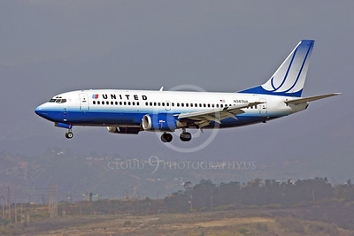 B737 00078 Boeing 737 United Airline N383UA by Peter J Mancus