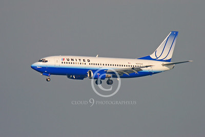 BOEING 737 00003 BOEING 737 UNITED AIRLINES N373UA by Peter J Mancus
