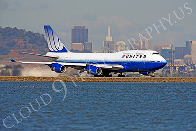 B747 00171 Boeing 747 United N198UA by Peter J Mancus