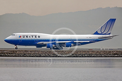 B747 00219 Boeing 747 United N174 UA by Peter J Mancus