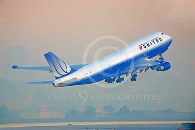 B747 00088 Boeing 747 United Airline N179UA by Peter J Mancus