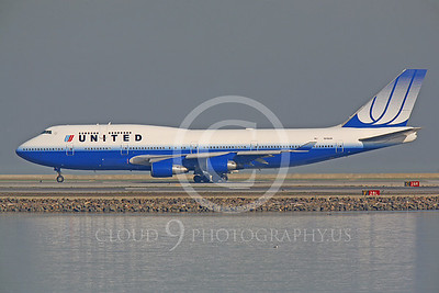 B747 00083 Boeing 747 United Airline N118UA by Peter J Mancus