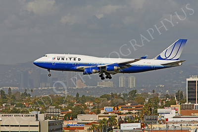B747 00170 Boeing 747-400 United Airlines N180UA by Peter J Mancus