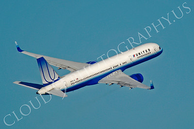 B757 00400 Boeing 757 United N517UA by Peter J Mancus