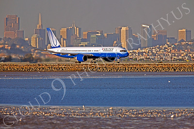 B757 00173 Boeing 757 United N547UA by Peter J Mancus