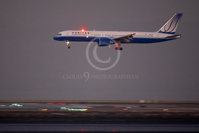 ALPN 00001B Boeing 757 UNITED N515UA by Peter J Mancus