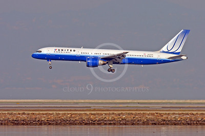 BOEING 757 00040 BOEING 757 UNITED N517UA by Peter J Mancus