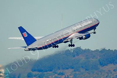 B767 00420 Boeing 767 United N666UA by Peter J Mancus