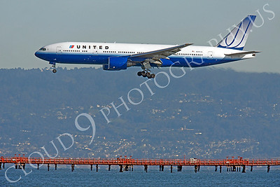 B777 00284 Boeing 777 United N209UA by Peter J Mancus