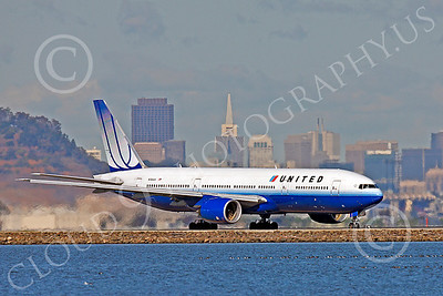 B777 00407 Boeing 777 United N785UA by Peter J Mancus