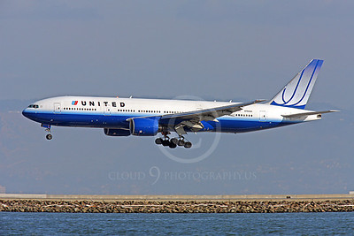 B777 00036 Boeing 777 United N780UA by Peter J Mancus